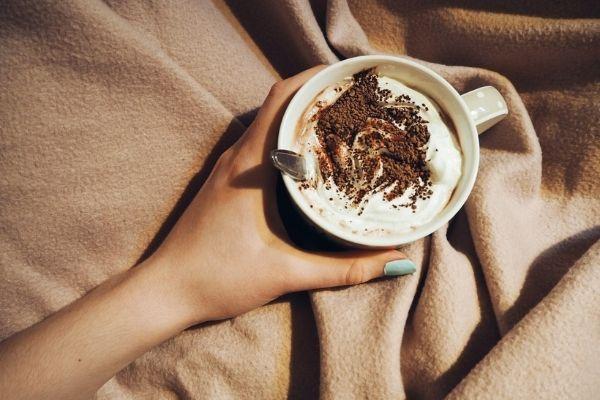 Drik en kop varm kakao