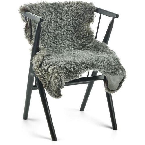 Gotlandsk lammeskind krøllet grå