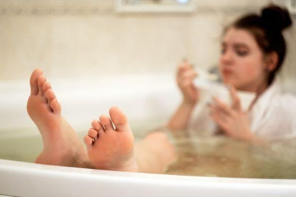Hjemmespa og wellness selvforkælelse