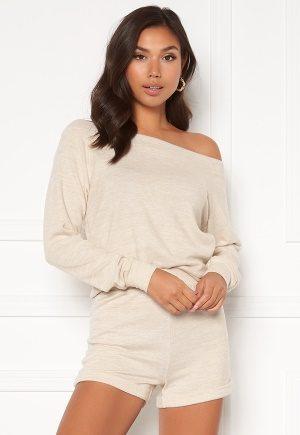 BUBBLEROOM Milena cozy knitted set Beige melange S