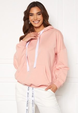KENDALL + KYLIE K&K Active Oversized Logo Hoody Pink/Wht S
