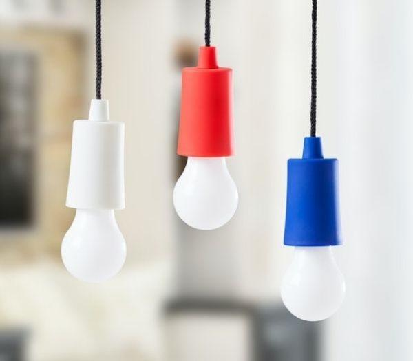 LED-lampe i Snor - 3 stk.