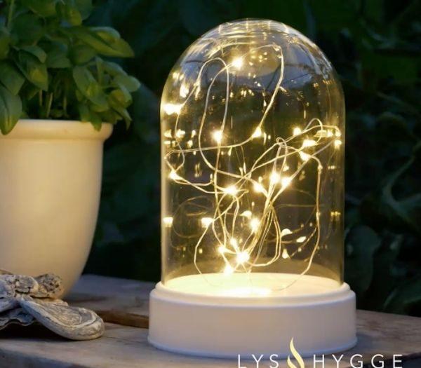 LED lysklokke