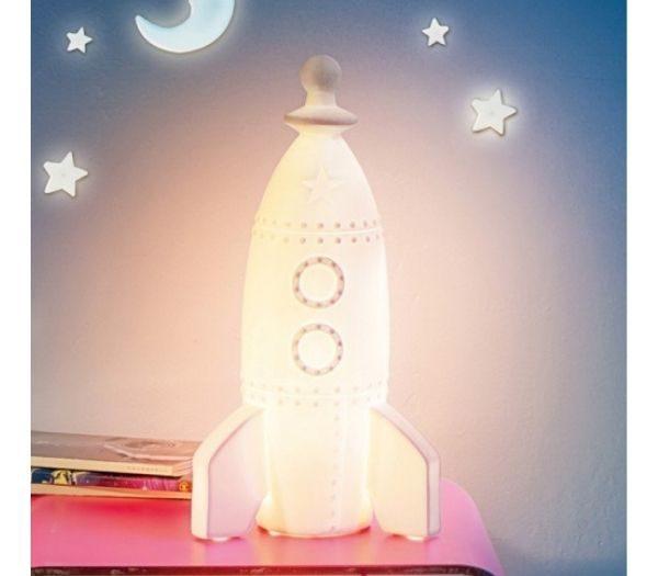 Moon Rocket lampe