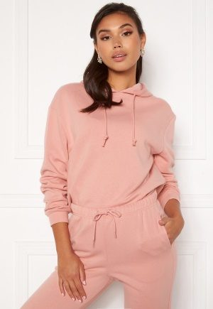 Pieces Chilli LS Hoodie Bridal Rose XS
